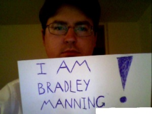 I am Bradley Manning Photo Project